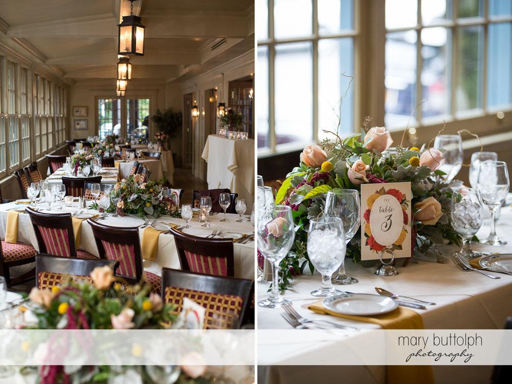 Wedding reception at Sherwood Inn Wedding