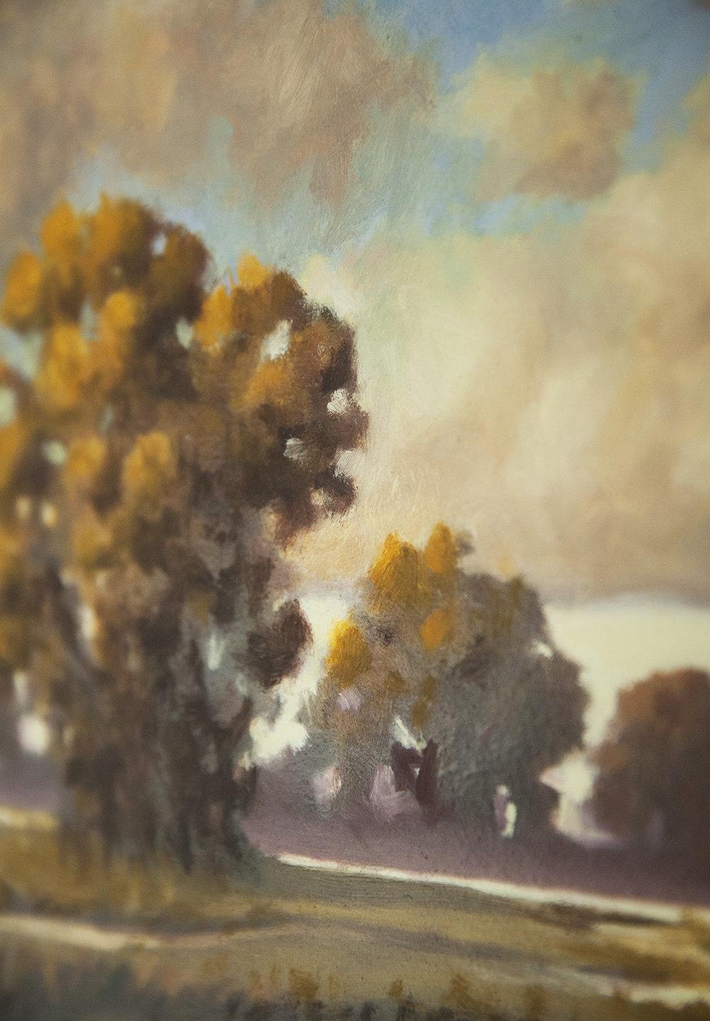 Original Oil on Wood - $450.00