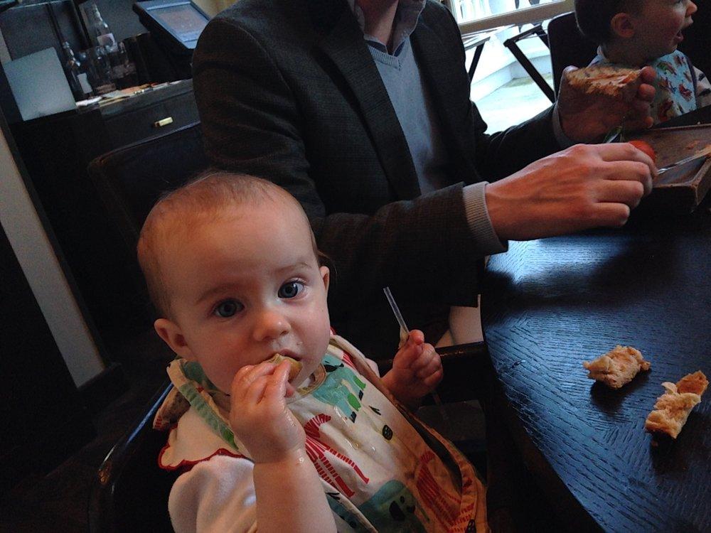Lunch in London, 2014.