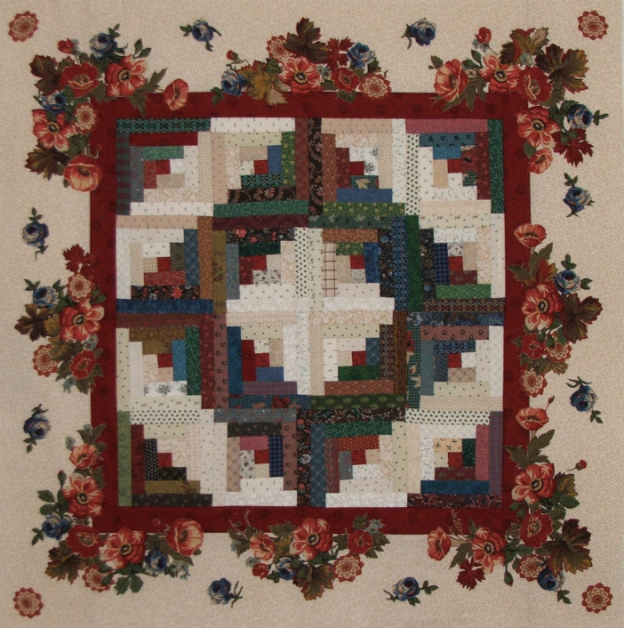 Cabin quilt pattern