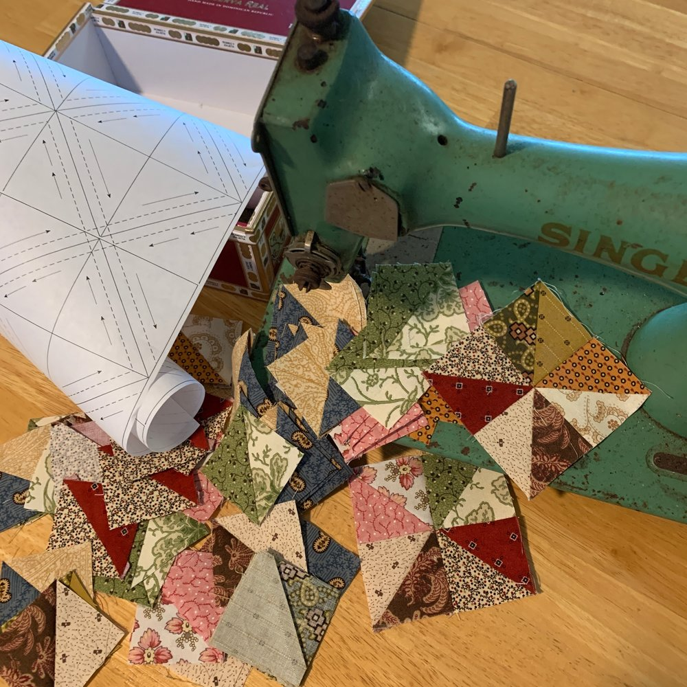 Oh, so many half-square triangles in no time at all!