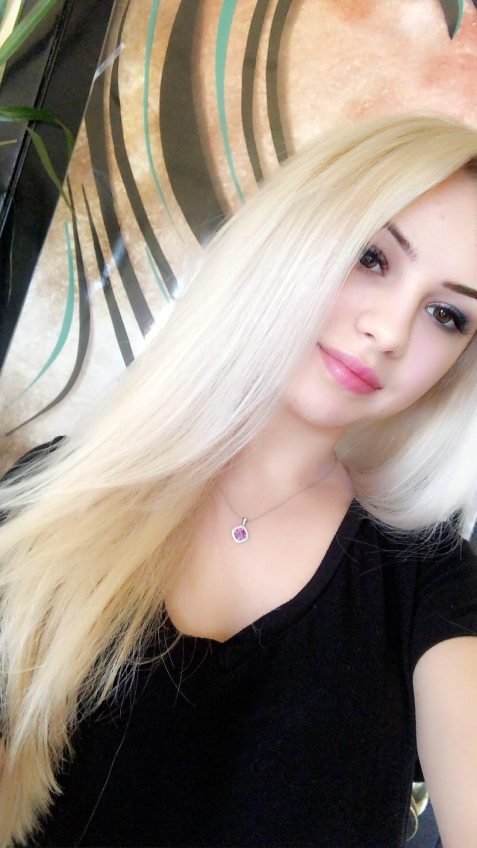 Platinum Hair extensions