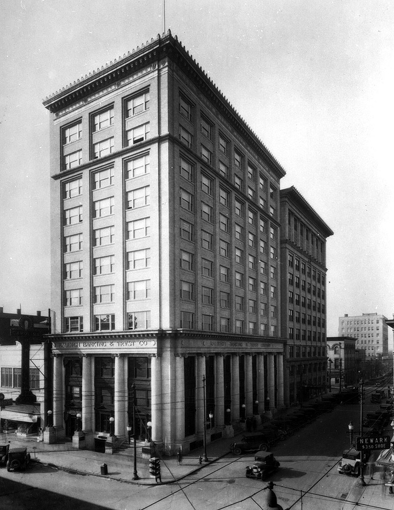 The Raleigh Building c.1930