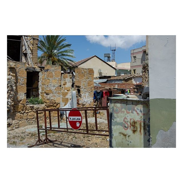 Backstreets of #Nicosia, in the northern occupied territory.  #EU #Europe #Cyprus #documentary #documentaryphotography #urbanlandscape #urbanphotography #street #streetphotography #ourstreets #streetstyle #streetsgrammer #Travel #travelphotography #travelphoto #graffiti #colourphotography #colorphotography #theheavycollective #lensculture #fotoroomopen