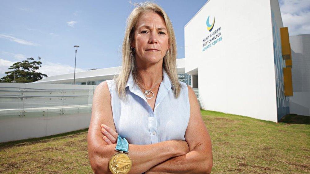 <strong>Deb Watson</strong><p>Teacher, mum, Sydney Olympic Gold medallist</p>