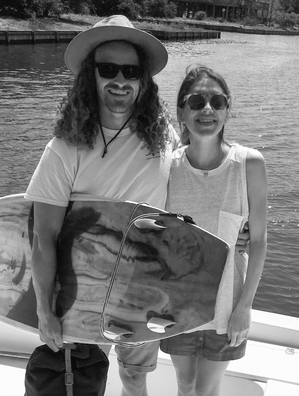 Nick & Kara Halleran  Owners, MAR Surf Exchange