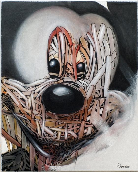 Tableau Franck Benoualid #2 Mickey