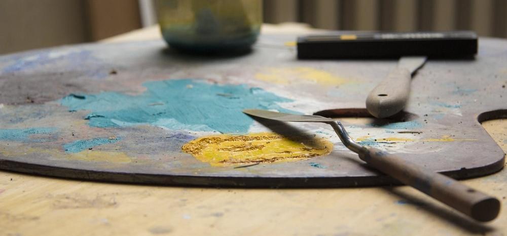 Atelier peinture artiste