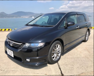 2004 Honda Odyssey Absolute £5995 (Japanese import)