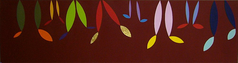 Dancing Dreams, 45 by 165cm, 2004.jpg