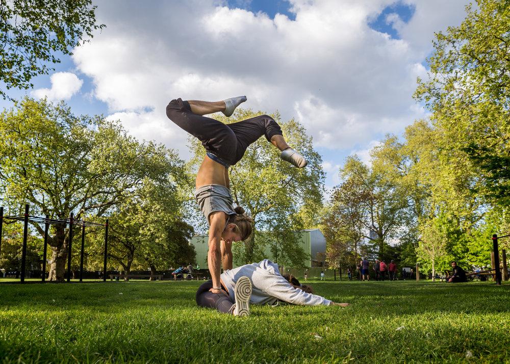 Handstand, Emily Cohen, Roo Hamer