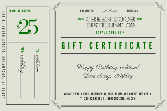 gift certificates - Share the love with someone.