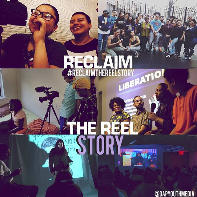 Today, #givingtuesday, we are launching the #Reclaimthereelstory campaign. We want to make sure the  real reel is what the people see when they imagine the lives and movements of youth from immigrant and  TLGBQ communities. Our goal is to raise $15,000. Help us make a dent in that amount today! Link in bio. If the link is a little slow, please be patient there is a lot of giving going on!
