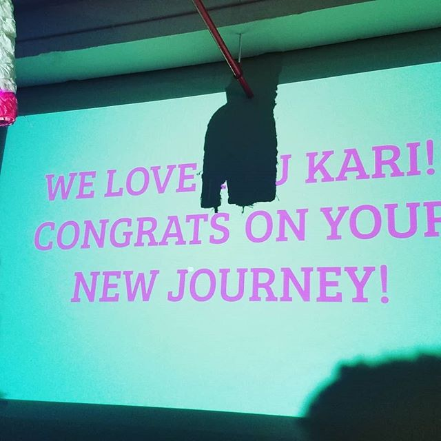 We love you @karilamarii! Keep being a baddass! Thanks for all you have done to bring shine and vision to the work of GAP.