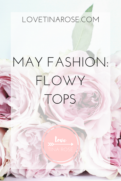 Love Tina Rose May Fashion Flowy Tops