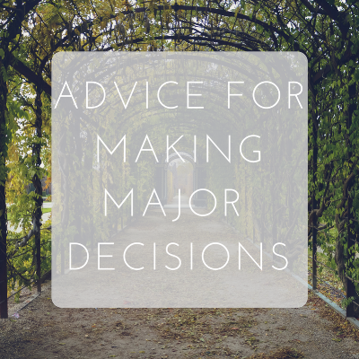 Love Tina Rose Advice for Making Major Decisions