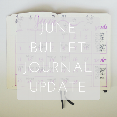 Love Tina Rose June Bullet Journal Update