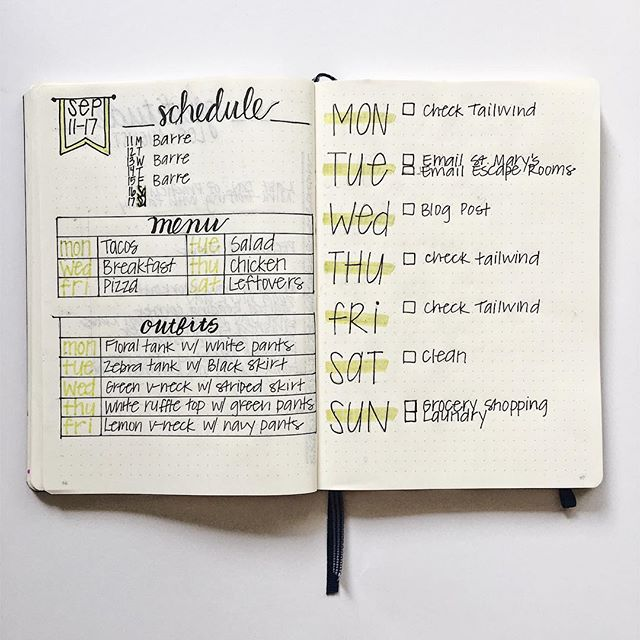 I am so excited about this new weekly spread layout in my bullet journal! It's super functional but also looks cute! Click the link in my bio to find out more about it.
