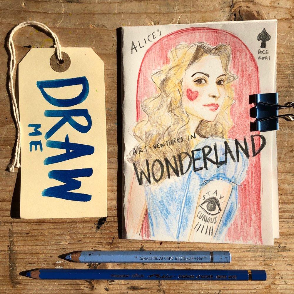 Alice's ART-Ventures in Wonderland