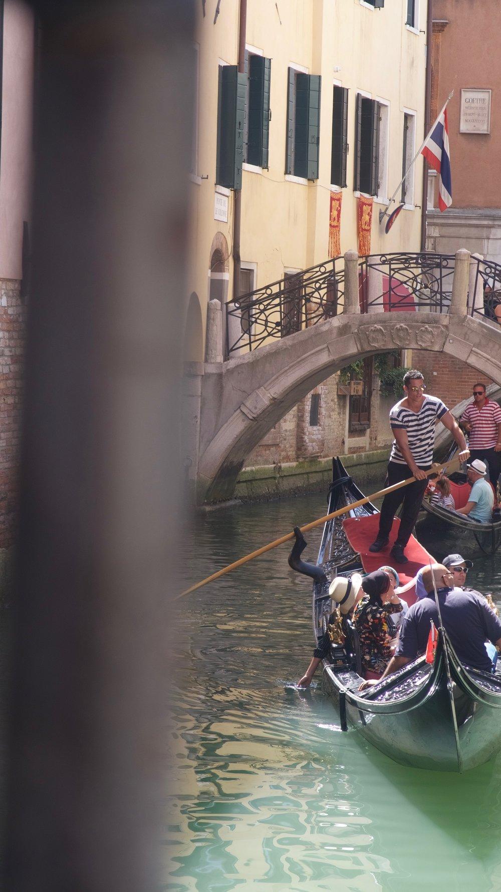 - gondolas for days