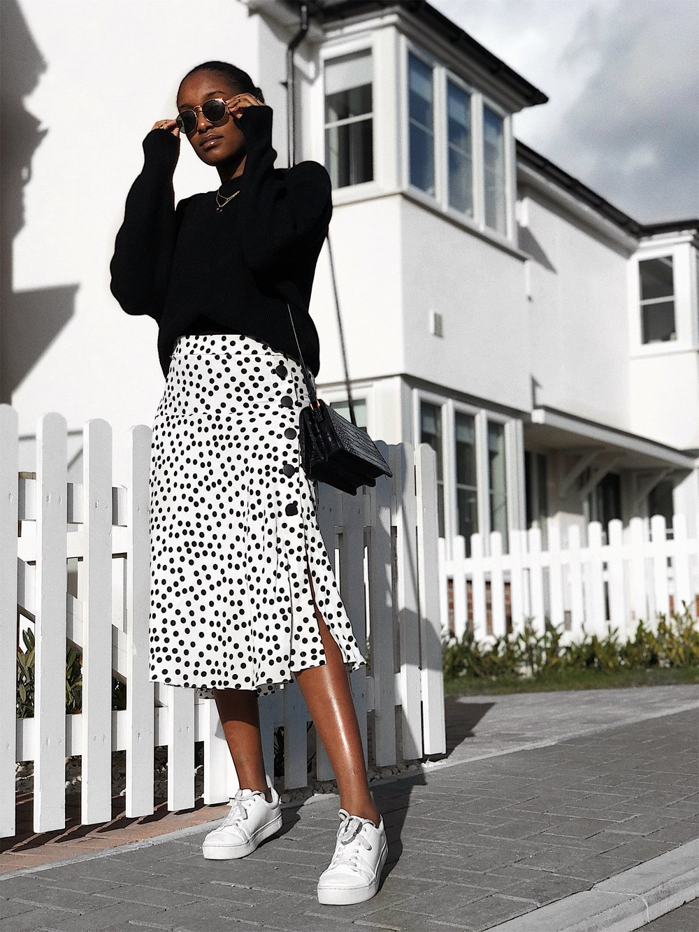 Polka Dot Skirt  Zara