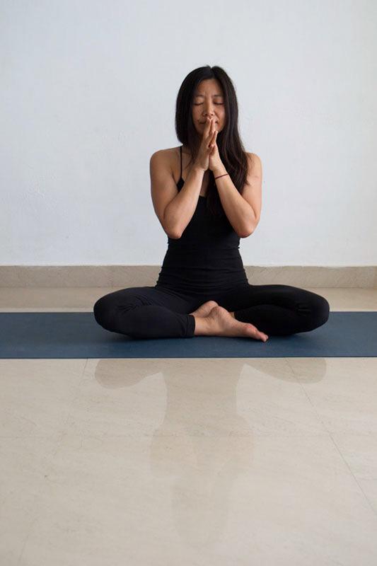 Trine Mee Sook Yin yoga og akupunktur