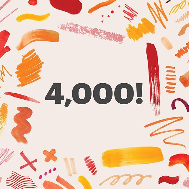 #HeyJoeyItsEstelle hit 4000 sales! Thank you so much to everyone who's bought from #Etsy this Christmas! #handmade #vintage #etsyfinds #etsygifts #etsyseller #smallbiz http://etsy.me/2ySOhJ0