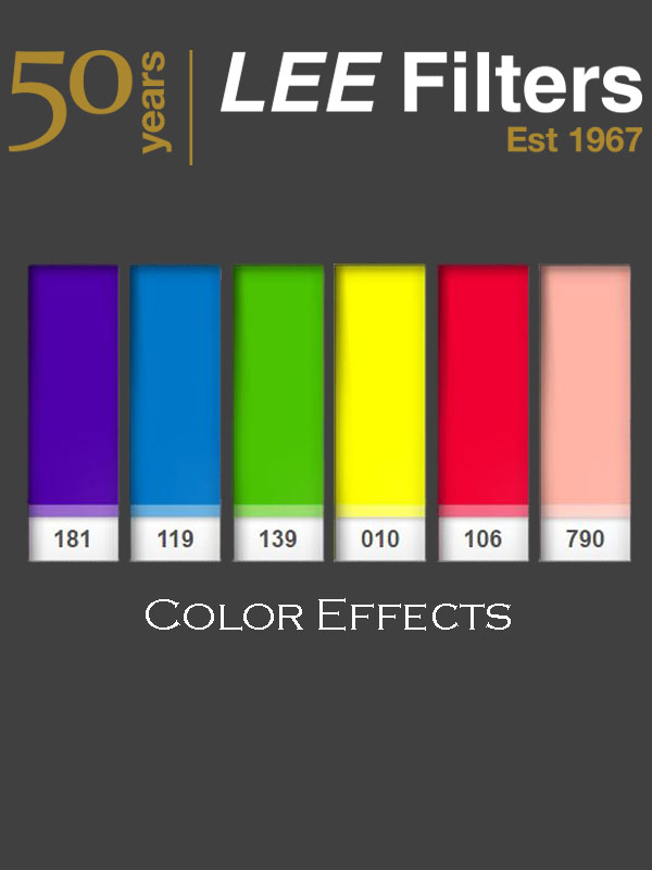 LEE Filters Color Effects Sheet Pack