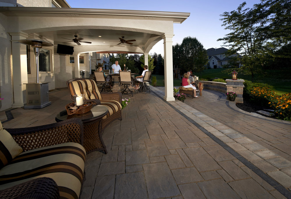 Concrete pavers -
