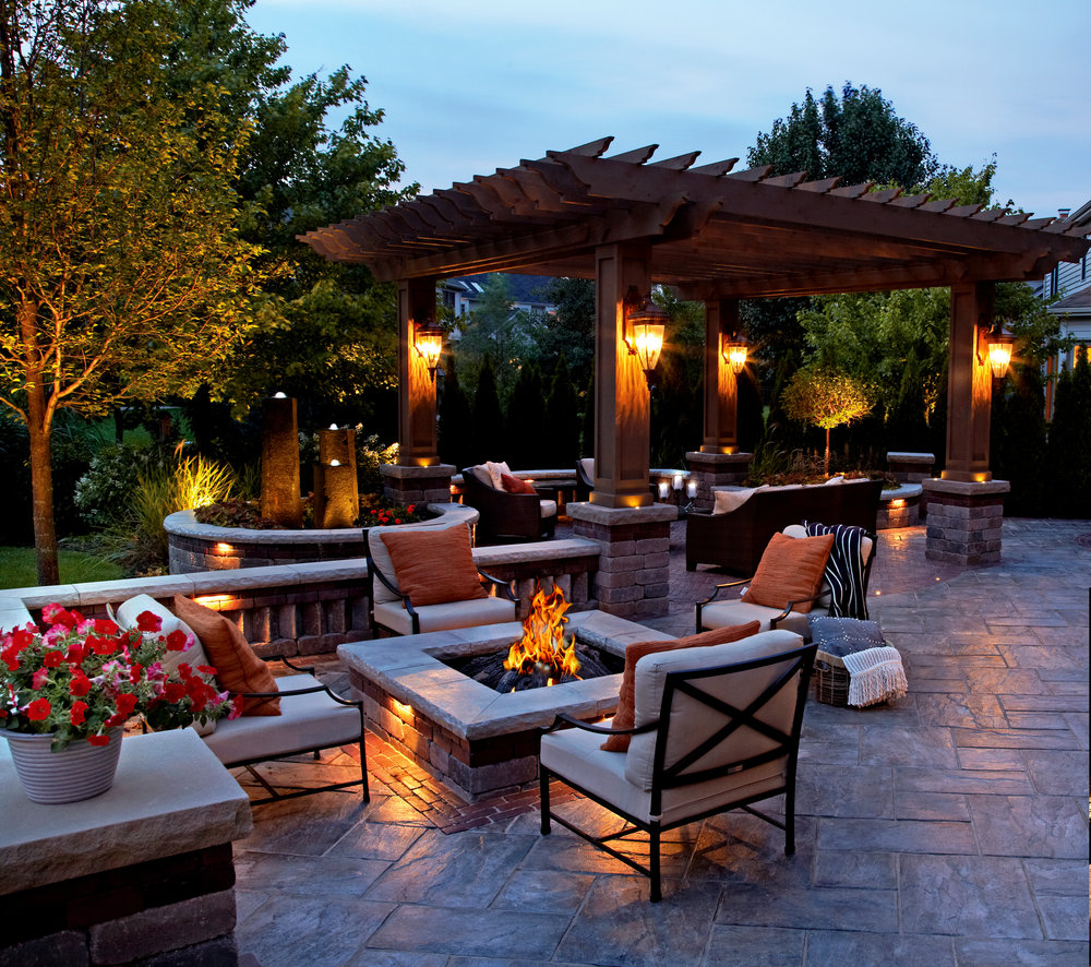 Beautiful natural stone landscape designs in Monmouth County, NJ