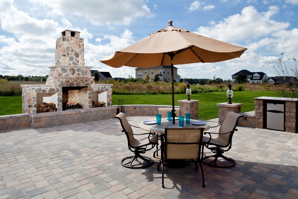 Best landscape design with paving stones in Colts neck, NJ