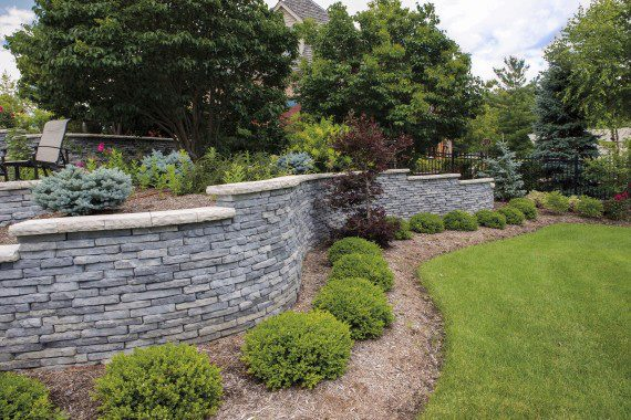 Top 5 Retaining Wall Landscaping Ideas for NJ LeEd Concrete