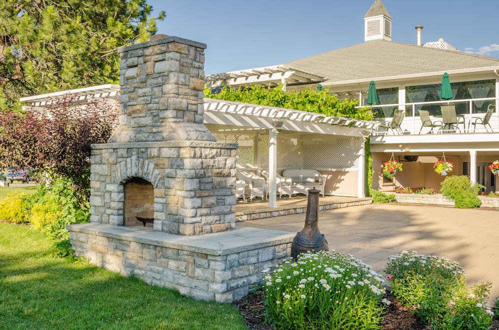 The Best Stone Options for Building an Outdoor Fireplace from Our Masonry Supply in Colts Neck NJ