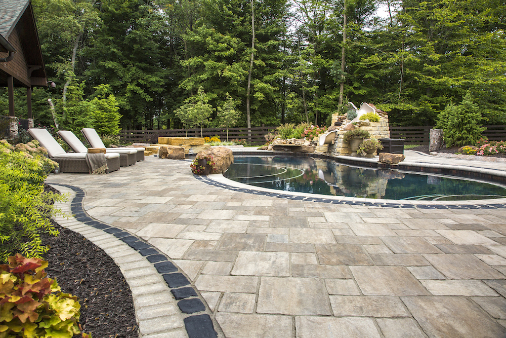 3 Landscape Materials to Consider for a Backyard Pool Renovation in Colts Neck, NJ
