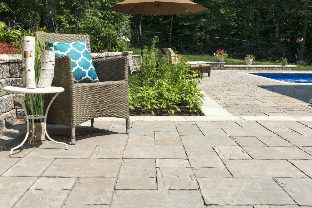 Choose These Unilock Pavers for a Non-Slip Pool Deck in Point Pleasant, NJ