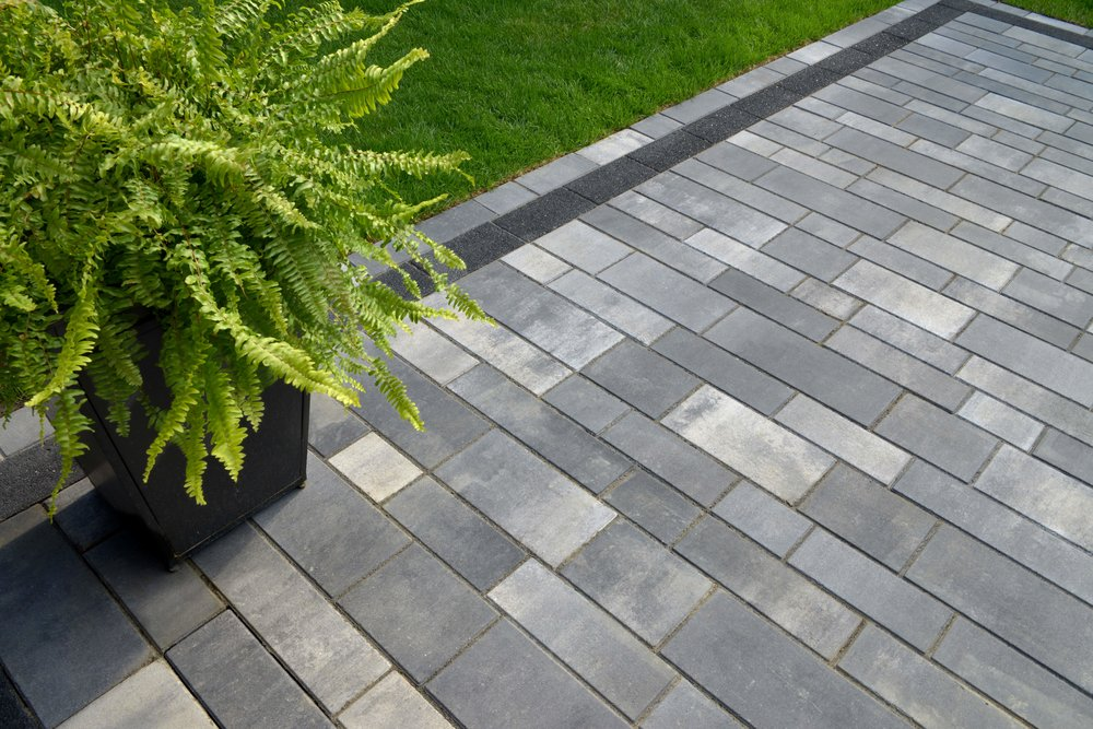 Get the Pavers for Your Contemporary Patio Projects from Our Stoneyard near Holmdel, NJ