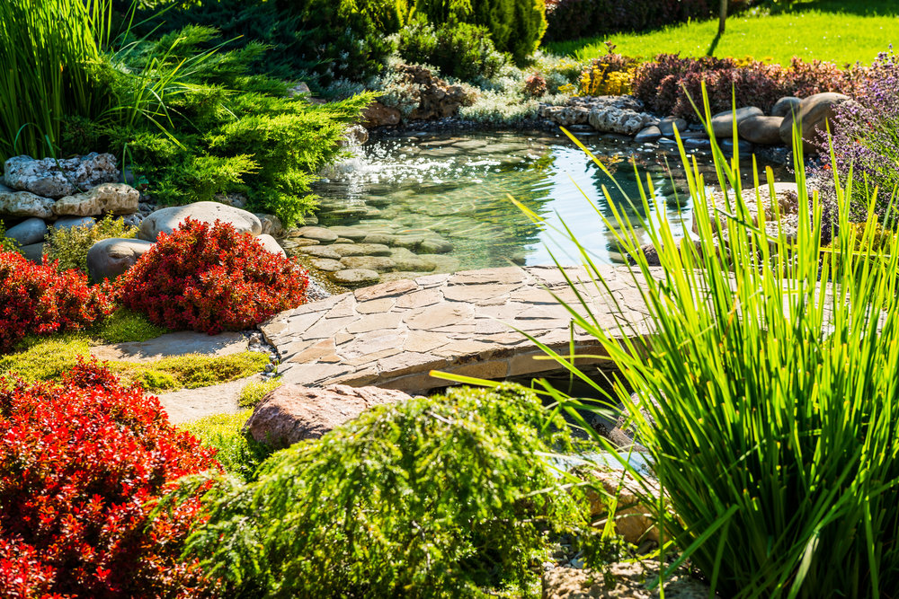 Ideal Landscaping Stones for Water Gardens in Holmdel, NJ