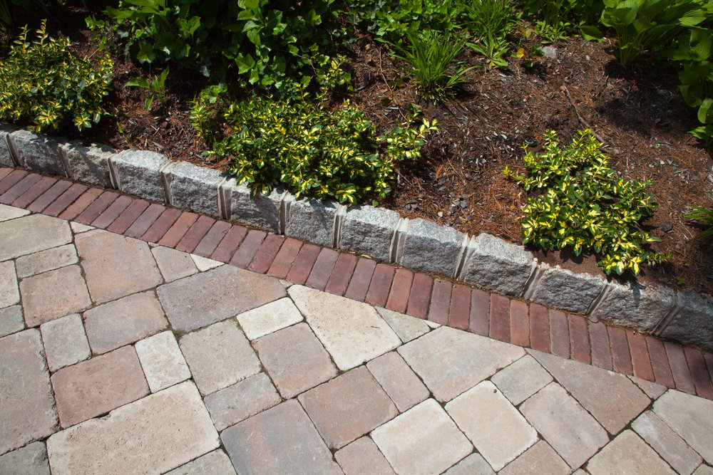 Use Brick Borders from Our Masonry Supply to Dress Up a Walkway in the Colts Neck, NJ, Area