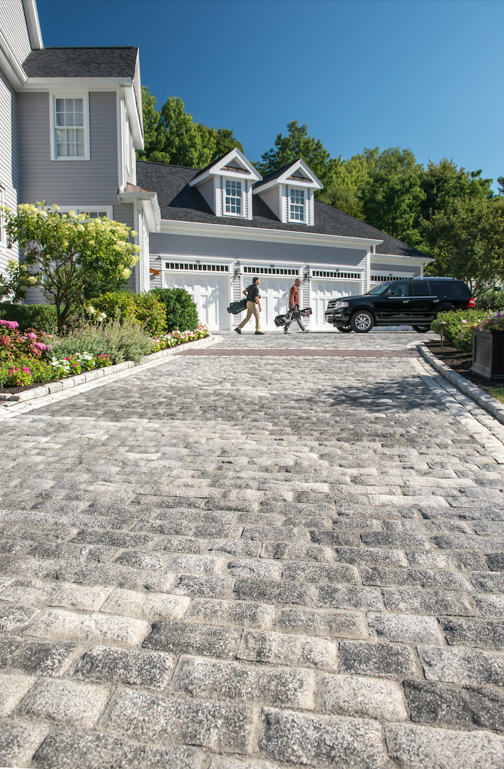 Build Beautiful Cobblestone Driveways and Walkways with These Unilock Pavers in Berkeley Township, NJ
