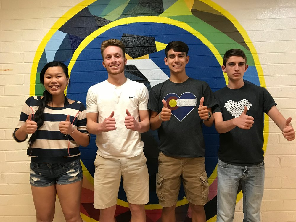 Tingting, Max, Jake and Cole are working to create a series of compelling events, serving to bring the economic way of thinking to light for audience members.
