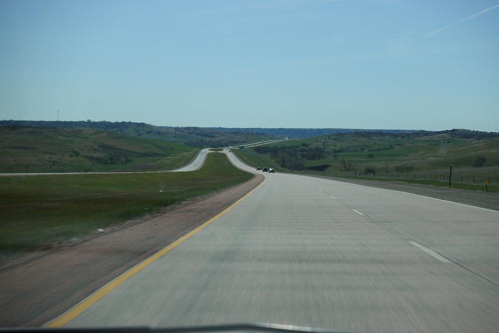 Hills in South Dakota