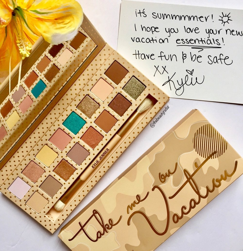 Kyshadow - Take Me On Vacation Palette by Kylie Cosmetics #20