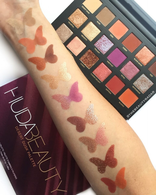 Desert Dusk Eyeshadow Palette by Huda Beauty #12