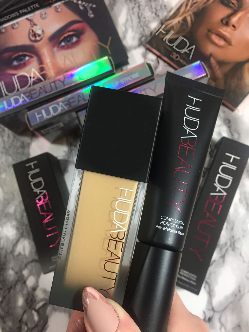 Watch Huda Beauty Foundation Is Here, and It Is Everything video