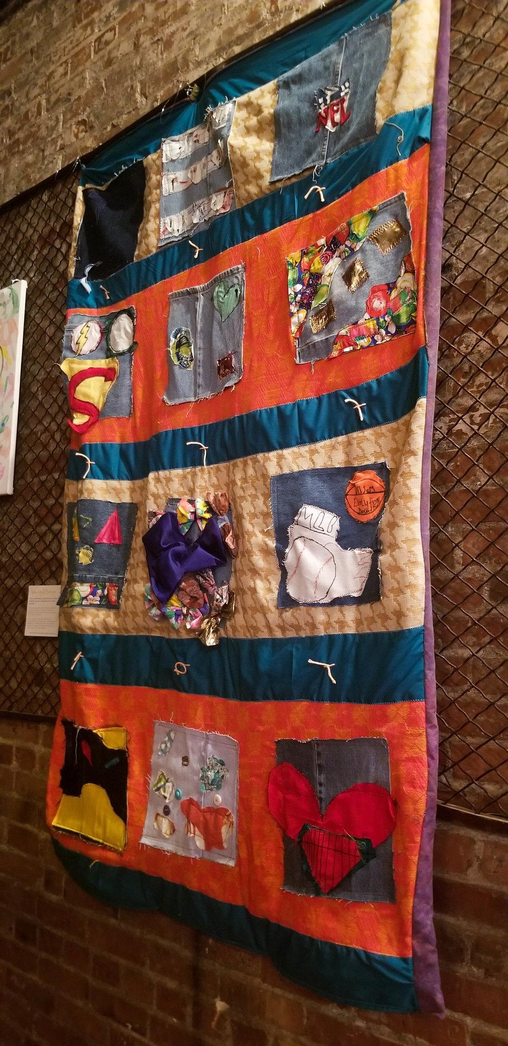 halo foundation quilt