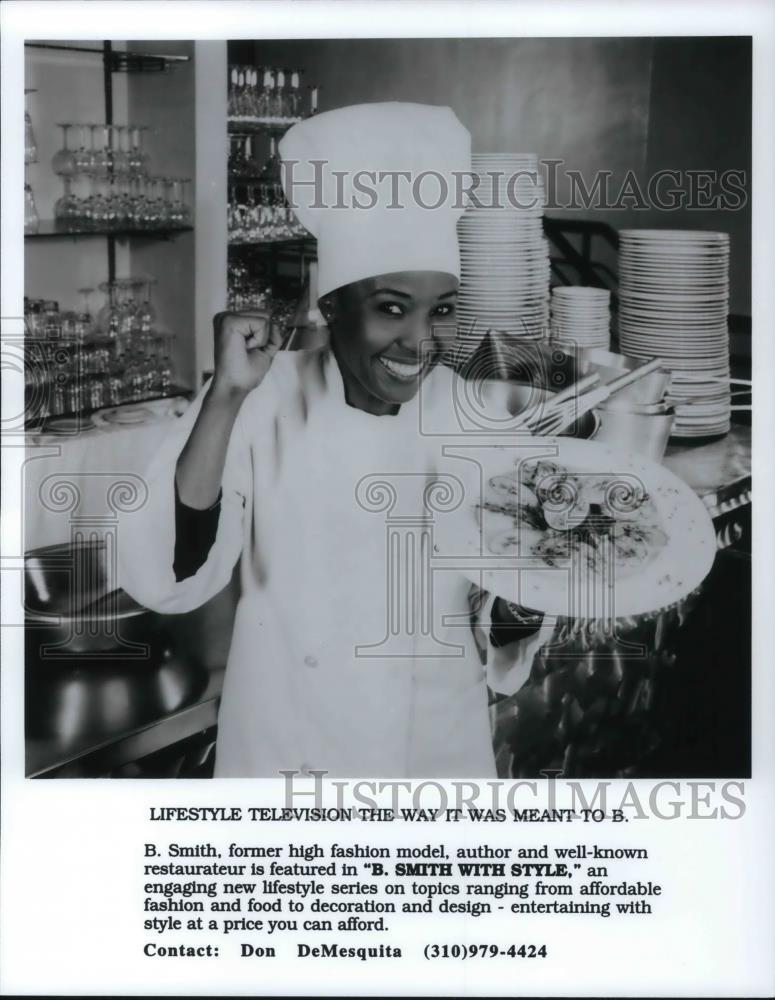 B.Smith with Style Press Photo via  Historical Images Outlet