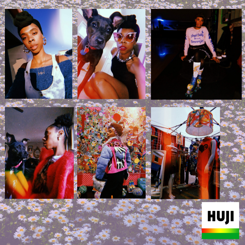7. huji - Because I miss the days when Polaroid film was like $3 for a box of 50 film slides. YaYa and I take our best snaps on the Huji app. I love when our pics get the rainbow lens flare.