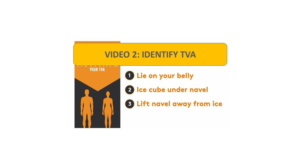 Video 2: Identify Your TVA