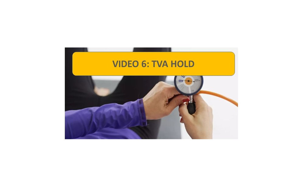 Video 6: TVA Hold