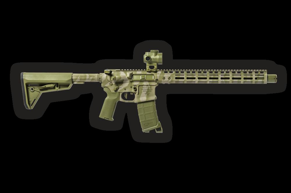Bazooka Green Tiger